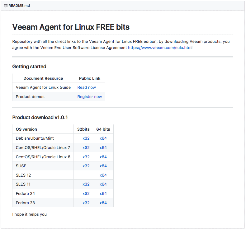Veeam github repository with quick downloads links for for Consul server vs agent