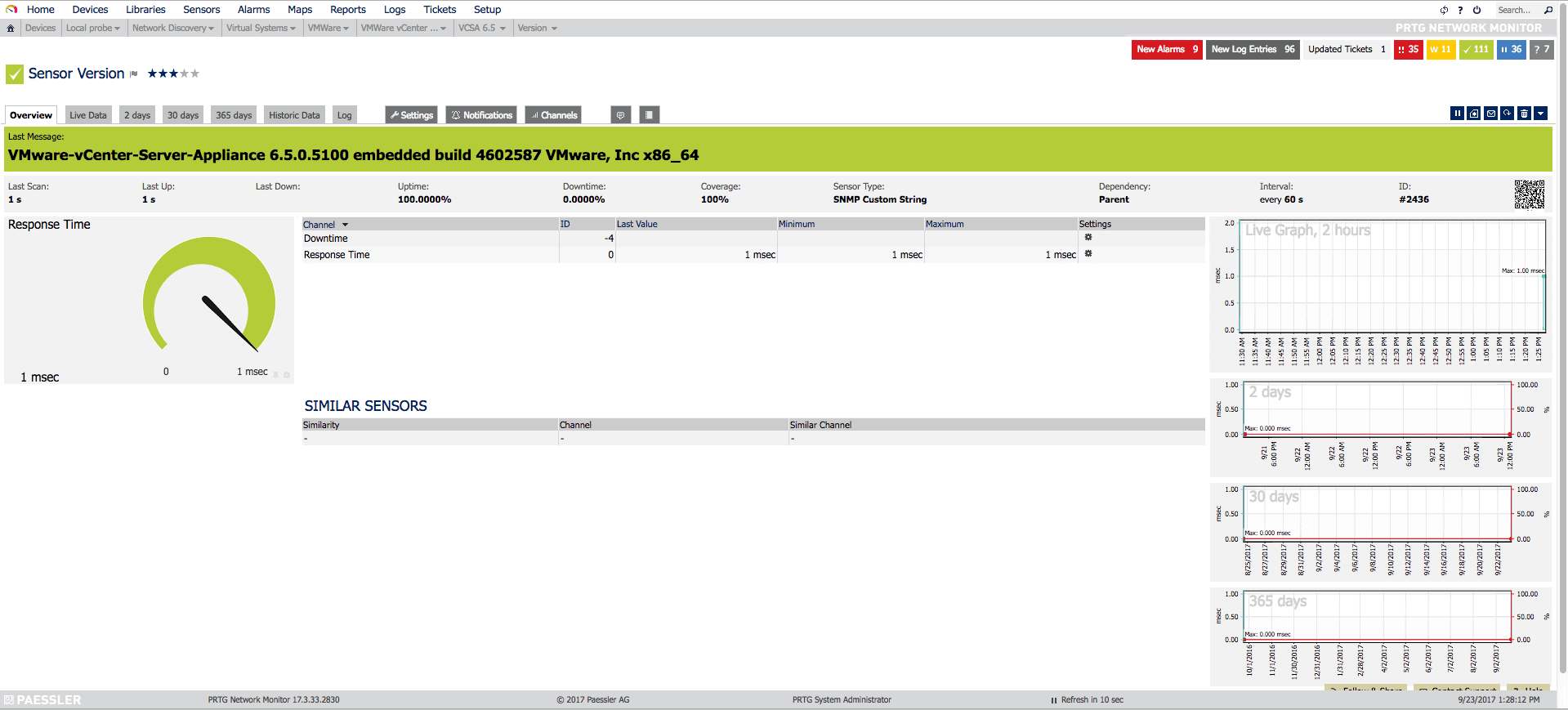 VMware: How to monitor your VCSA 6 5 using SNMP and PRTG Network